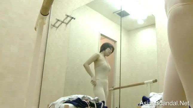 Girls naked in the dressing room